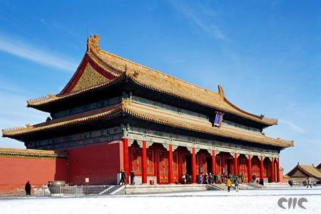 北京 故宫/故宫保和殿:重檐歇山顶