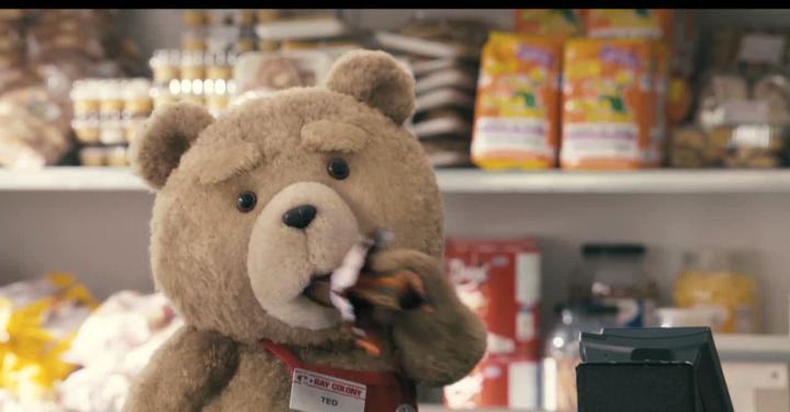 真人版的动画片如加菲猫,泰迪熊是怎么拍的?