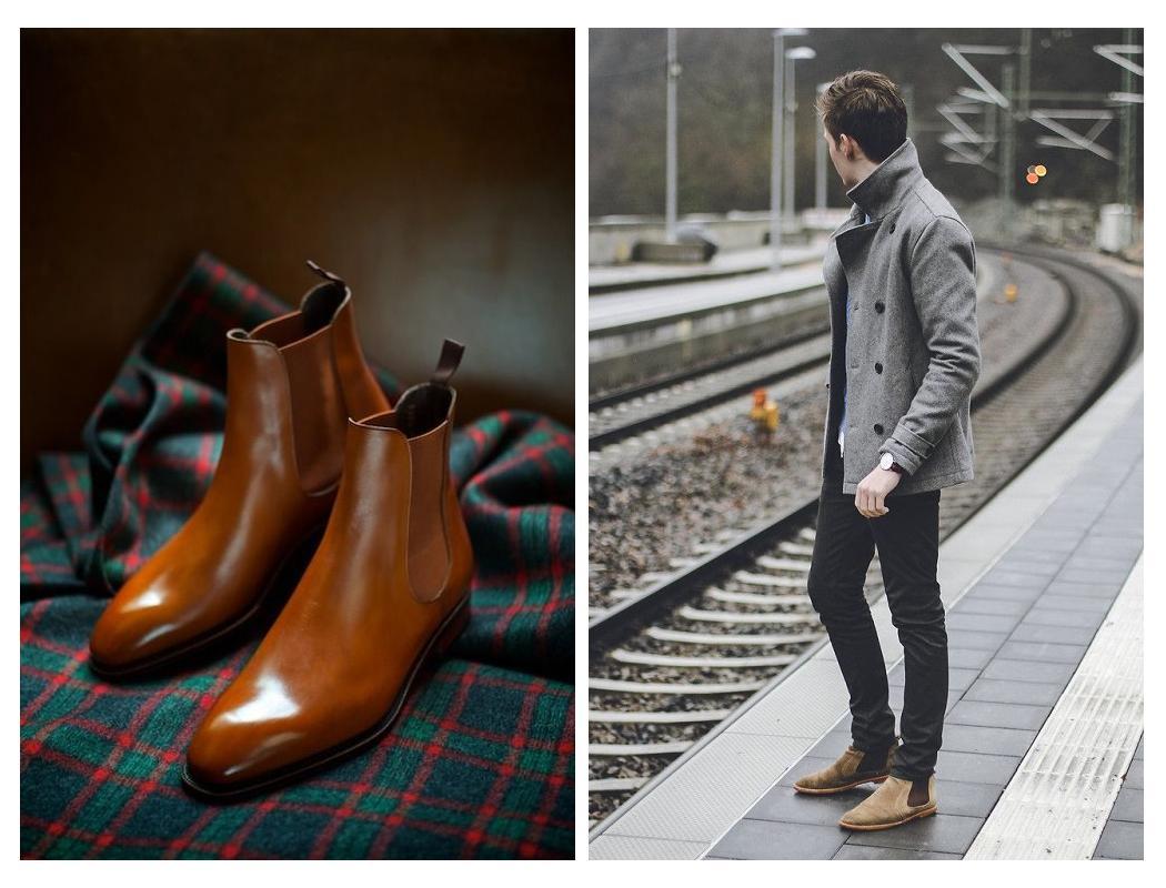 首先是一双 靴子(boots): 切尔西靴(chelsea boots): 除了靴子以外的