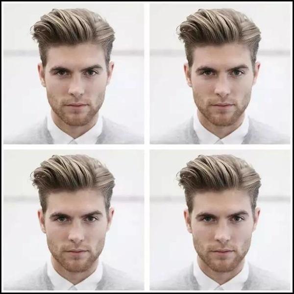 男士头发又软又趴,打发烫,不想比较蜡,留男生不想发型帽子图片
