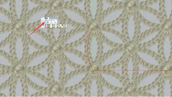 题主你好,这种圆盘效果需要进行简单分析,图案由花瓣和圆球重复组成
