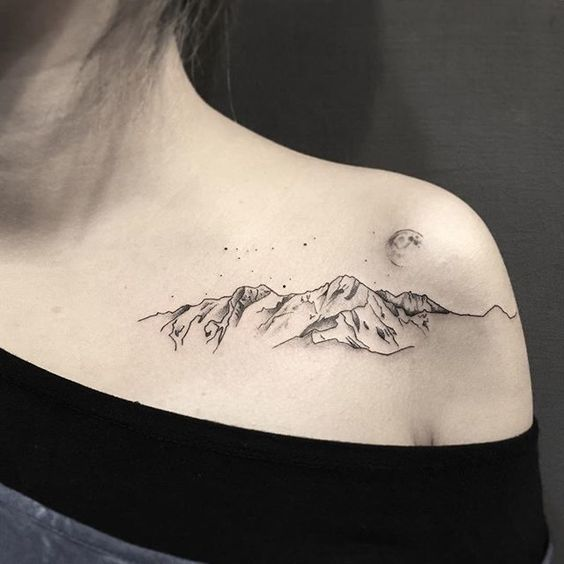 女生纹身有推荐的艺术小图么?图片