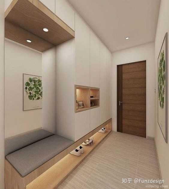 """我建议""""面对大门处""""做一个屏风隔断(区分客厅和玄关),并设计玄关鞋柜.图片"""