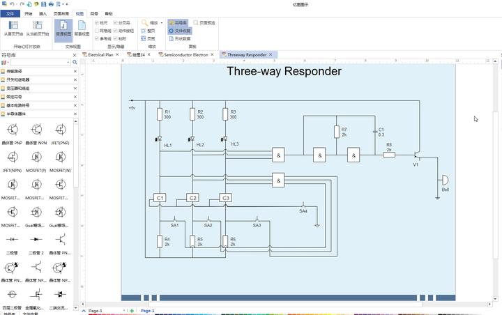 画电路图用什么软件比较方便?