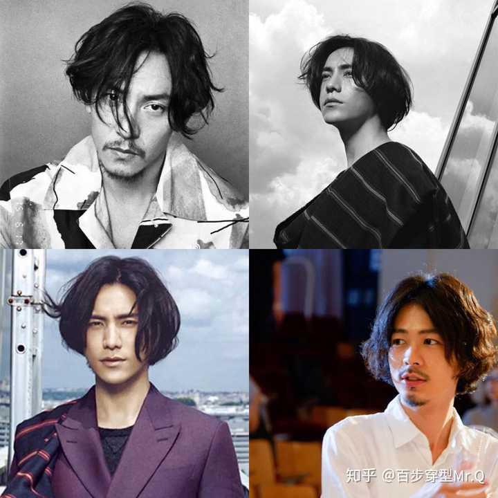 男生留长发怎么打理过渡期的发型?图片