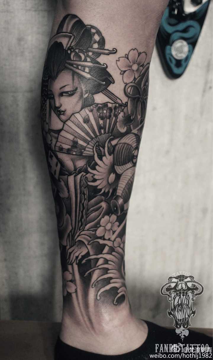 女神半壁纹身花囹�a_这个纹身 想请问究竟水平怎么样?