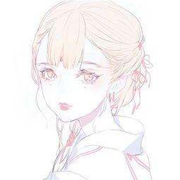 有没有一些可以作为头像的那种动漫的可爱的女生头像?图片