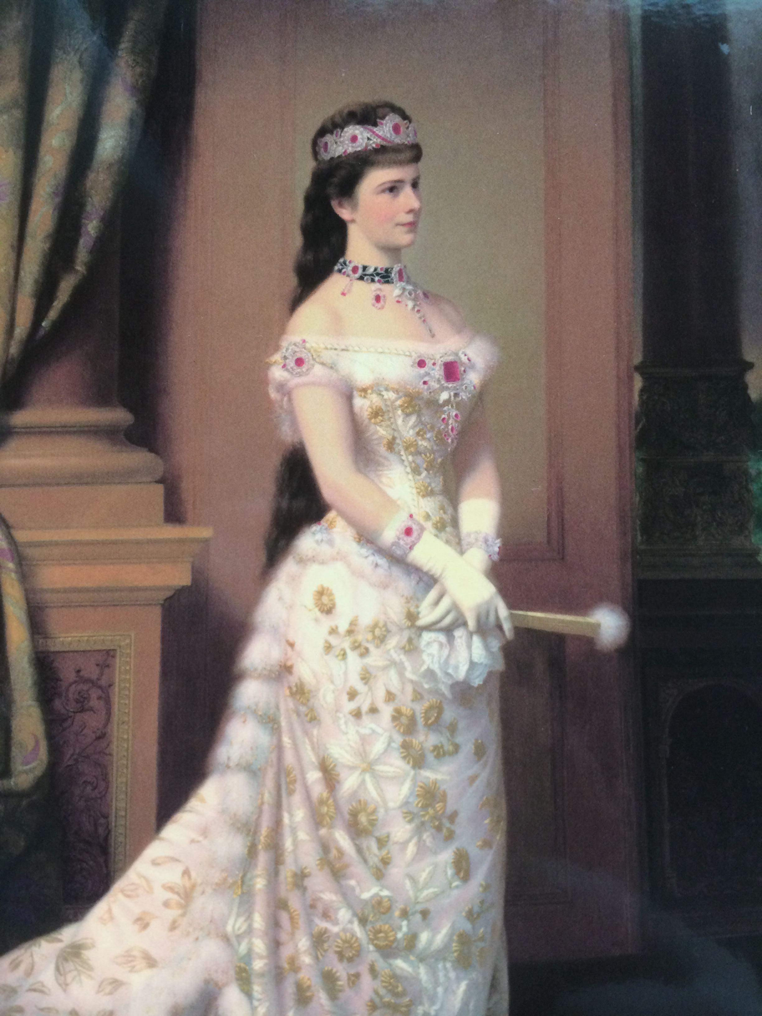 茜茜公主的发型是什么?图片
