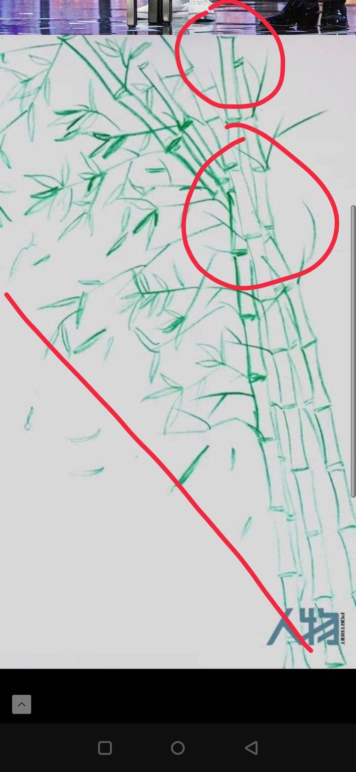 从专业角度看,肖战微博发的梅花设计得怎么样?