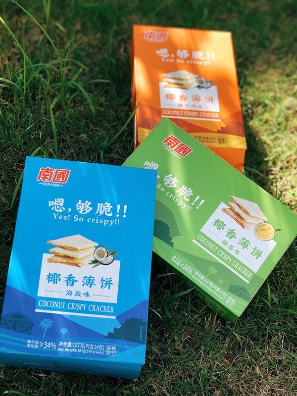 海南专属特产椰香薄饼,薇娅、刘涛都推荐的海南手信!