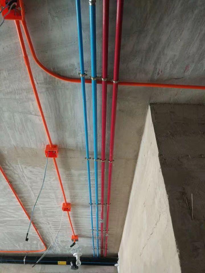 永穗不锈钢冷热水管安装实例