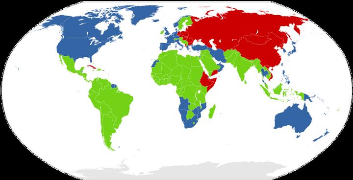 世界国家区���^�_目前的中国算不算第三世界国家?