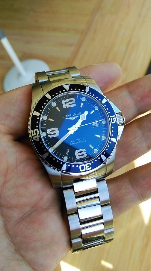浪琴康卡斯潜水系列手表 万表网