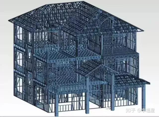 轻钢结构房屋建造第一步是根据实际需求进行设计,采用电脑辅助结构