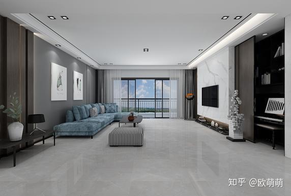 客厅瓷砖选什么颜色好 客厅瓷砖颜色搭配技巧
