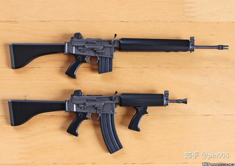 长行程活塞和短行程活塞有何区别,如何区分?对枪械的各个方面都有哪些影响?相关的图片