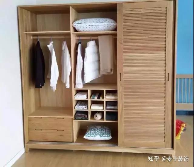 栗子饰家,老房翻新—衣柜内部这样设计,你家还能多放图片
