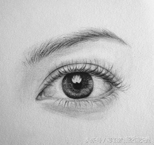 素描眼睛怎么画?素描眼睛画法步骤