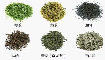 中国六大茶类 茶叶分类的方法,是以制法为基础,结合品质特征,考虑