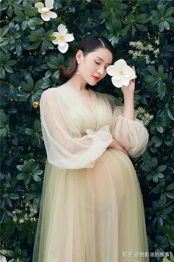 媲美明星画报的孕妇写真,你值得拥有!