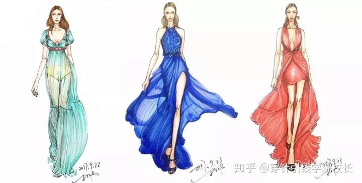 今日探讨 | 服装手绘上色四大工具,你用了几种?图片