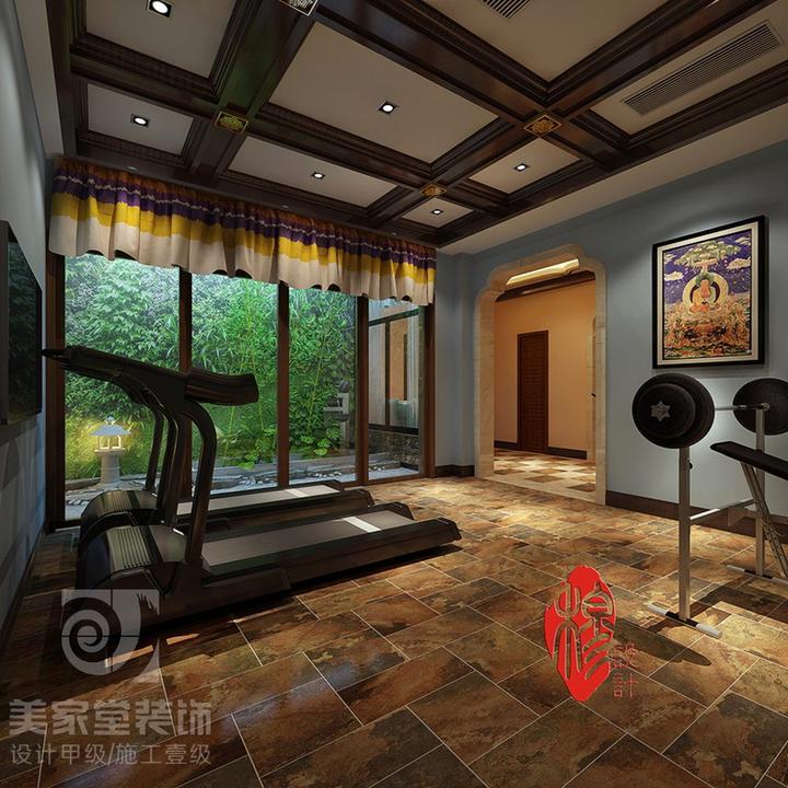 室内装修新风中式与藏式结合学雷锋树风格手抄扳多画少字图片