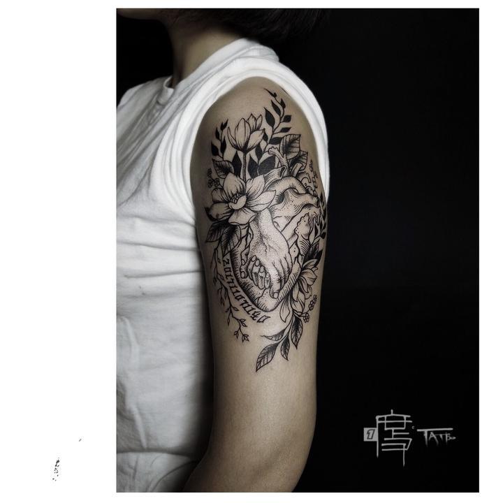 有什么纪念去世亲人的纹身吗?图片