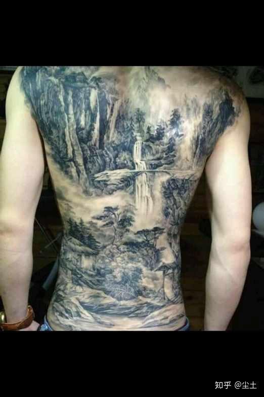 你看过哪些好看的中国风纹身图案?