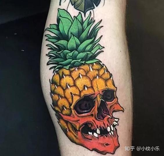 水果纹身,拥有着自己独特的清香