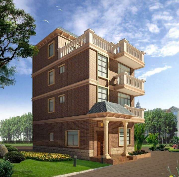 小型民房建筑设计图