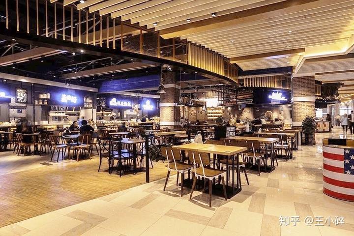 偏现代艺术气息的工业风设计 | 山东日照食通天美食广场图片