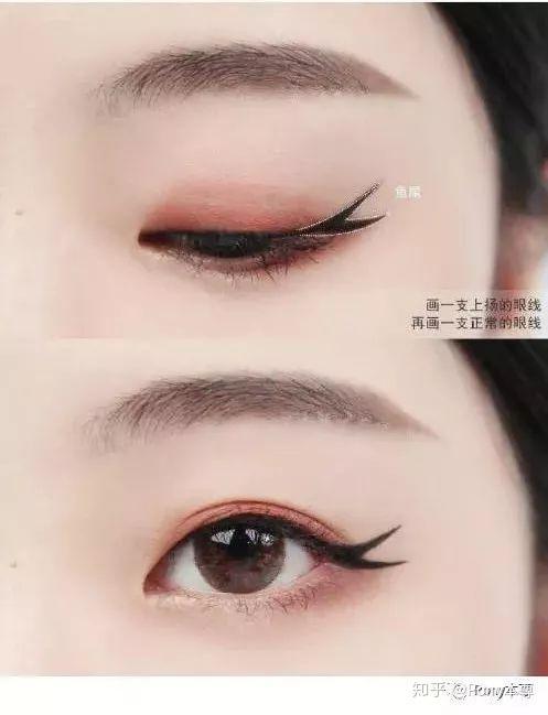 九种创意可爱的眼线画法,你get了吗?