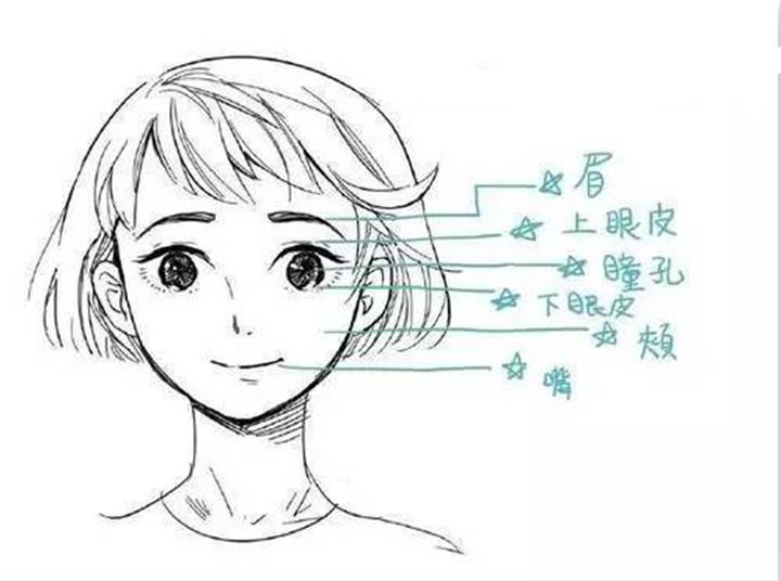 漫画人物表情难点解析及其应用图片
