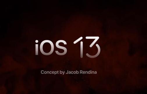 ios13概念设计曝光,新增几大黑科技,网友:终于心动!