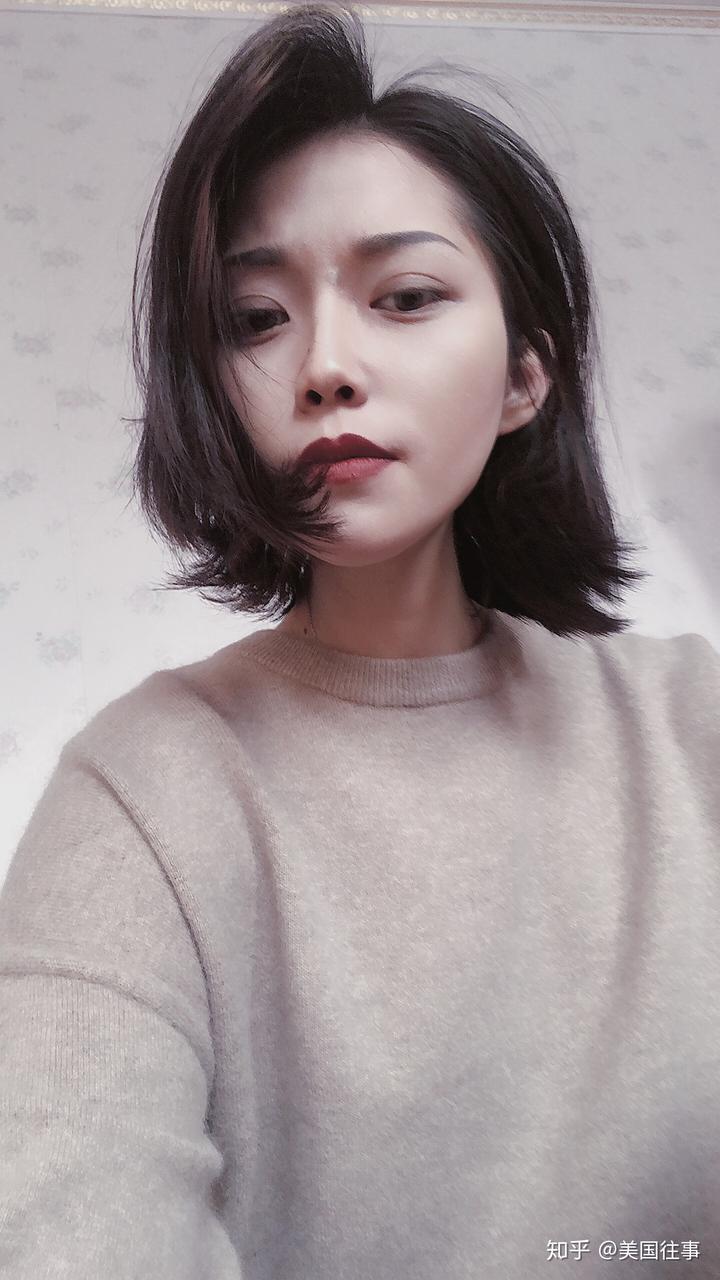 女生剪了短发是什么感觉?图片