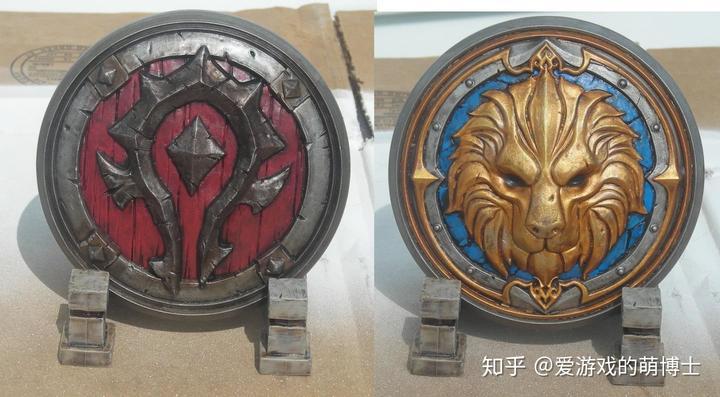 巧手上色,《魔兽世界:争霸艾泽拉斯》美版典藏包标记更具质感