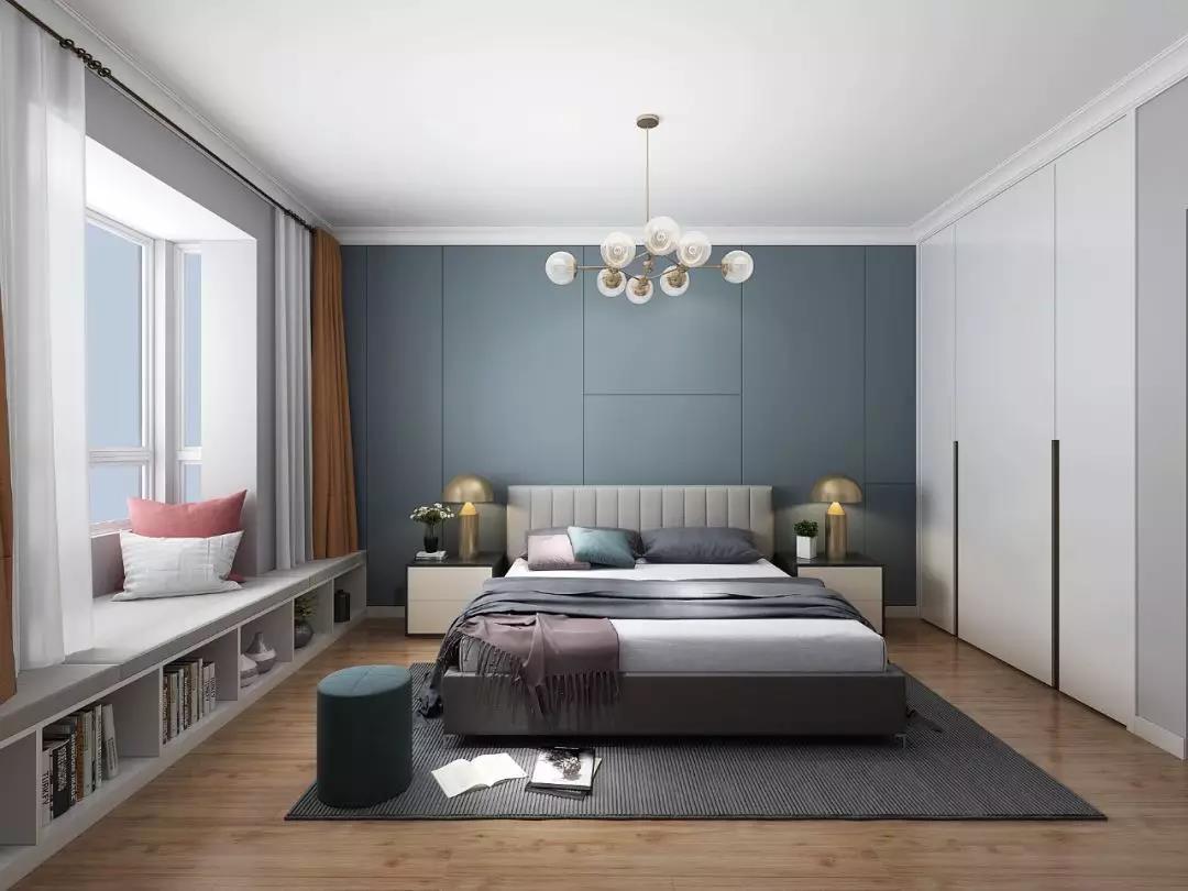 装修好看的房子,一定要有个卧室做飘窗!这些设计图气质又浪漫!