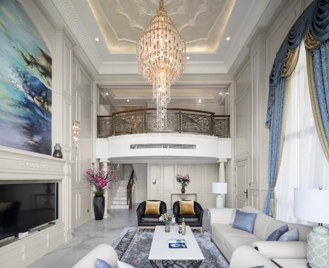 475平米别墅豪宅欧式豪华风格装修设计效果图