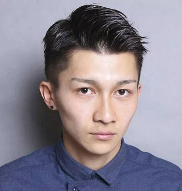 男生从平头到油头如何选择留发过程的发型?图片