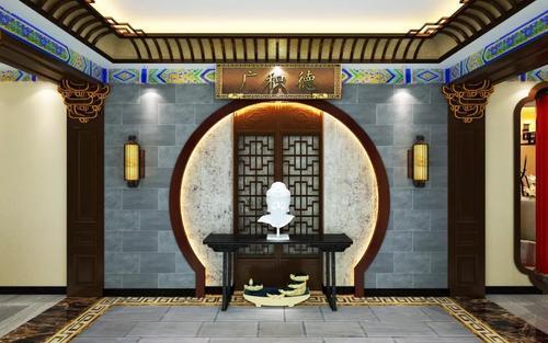 全新中医馆装修设计,融入新中式风格图片