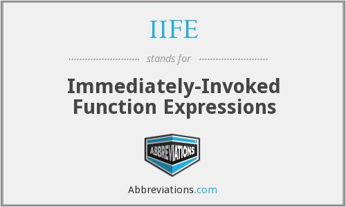 「每日一题」什么是立即执行函数?有什么作用?