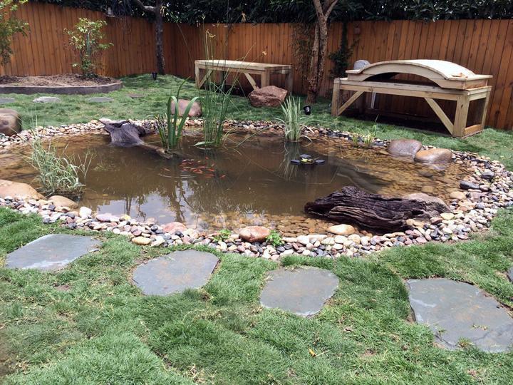 庭院建造池塘的造景过程【转自weibo:@马锐拉】插图(34)