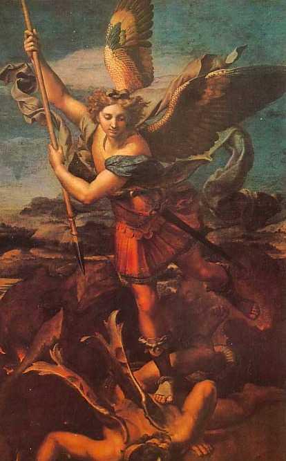 艾尔法_圣经里为什么只提到米迦勒和加百列两个天使?基路伯,大能的 ...