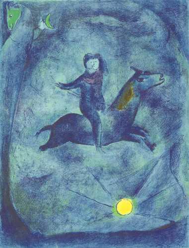 为什么夏加尔的画中有那么多抽象的马 知乎