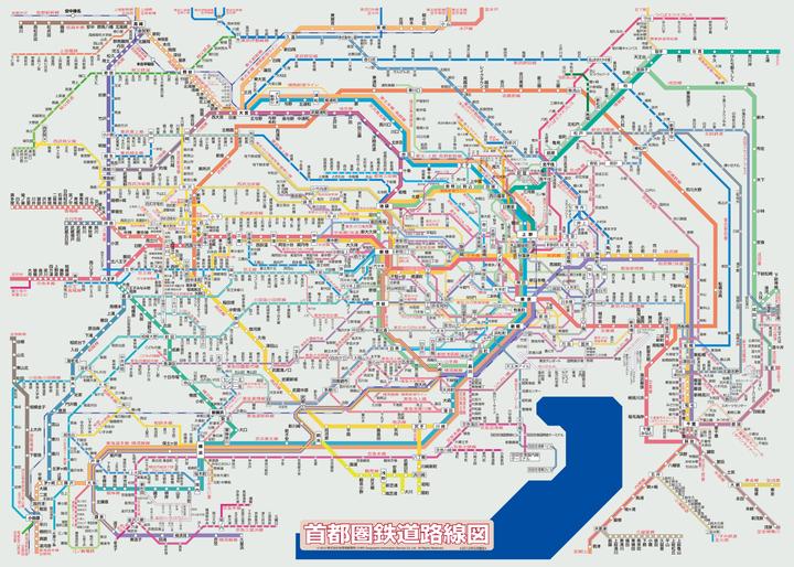 東京地鐵線路圖為什么比倫敦地鐵線路圖更復雜?圖片