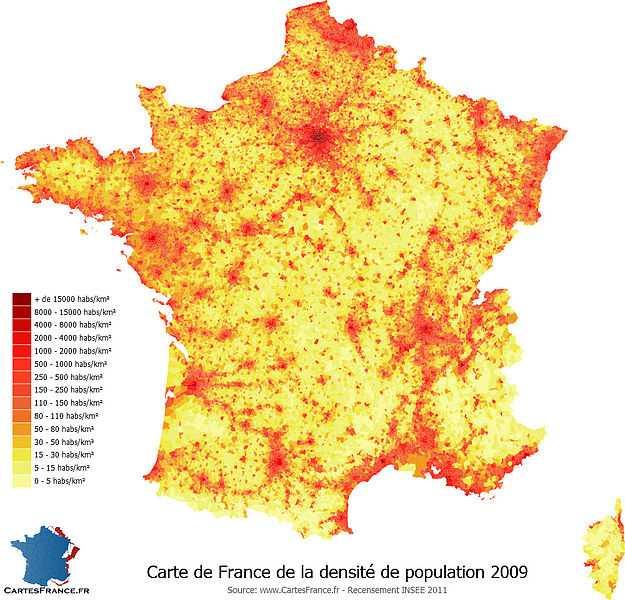 法国面积人口_同在伊比利亚半岛,西班牙为什么不能吞并葡萄牙