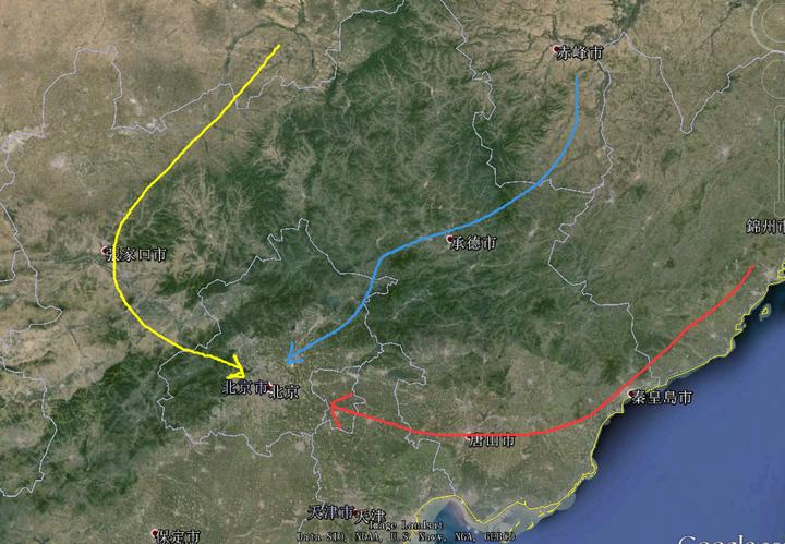 明朝和后金/清的主要爭奪焦點就是山海關-錦州一線的遼西走廊,啃開圖片