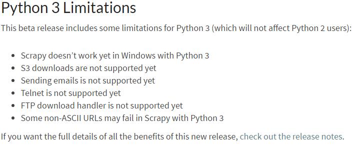 scrapy不支持python3吗?有解决的办法吗? - 知乎