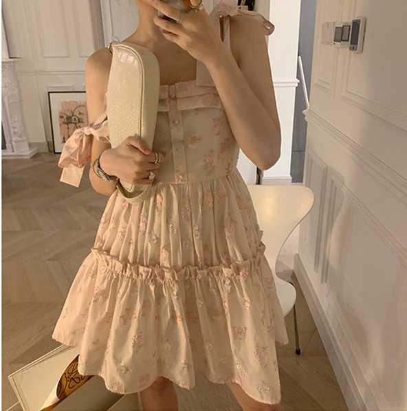 超仙甜美连衣裙买家秀,每一张都是神仙颜值3