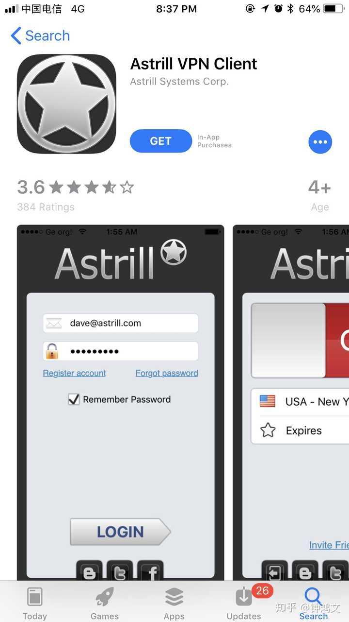 如何在iphone上下载Astrill? - 知乎